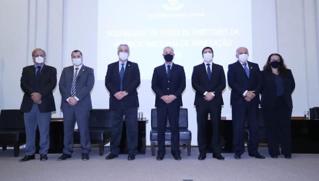 Novos diretores da ANM tomam posse no MME