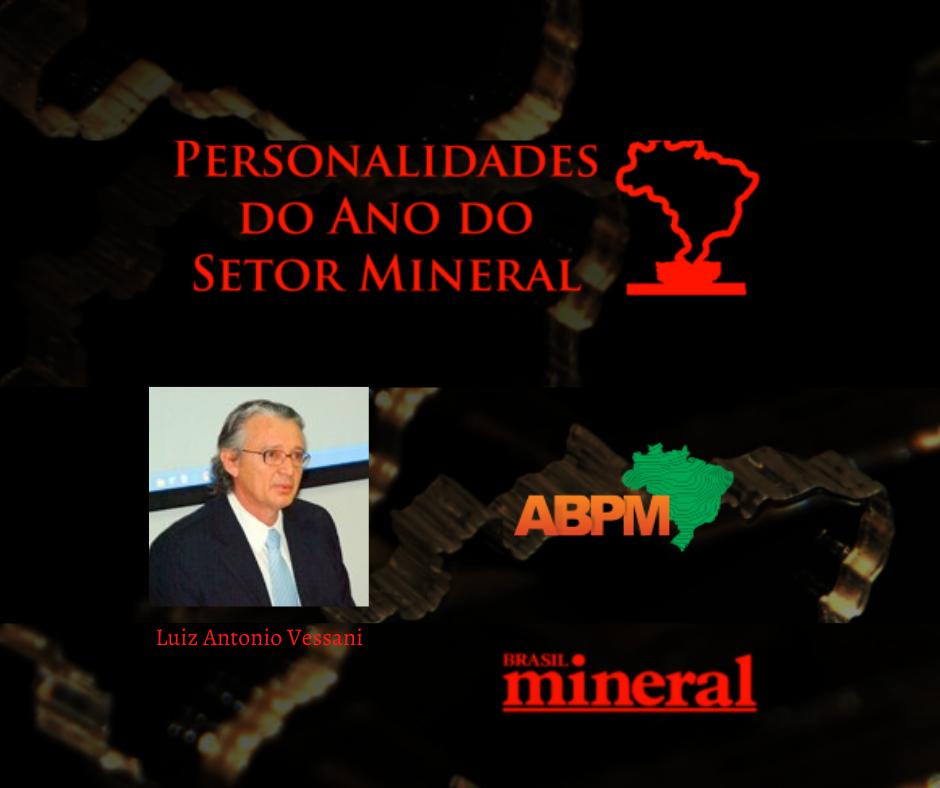 Diretor da ABPM é eleito personalidade do ano do setor mineral