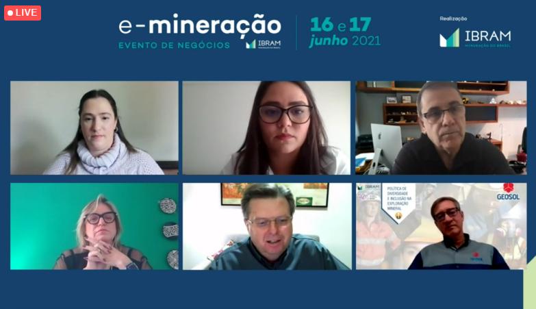 Webinar discute Políticas de Diversidade e Inclusão na Exploração Mineral